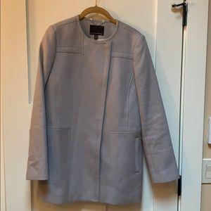 Banana Republic Pea Coat Jacket XS, Slate Gray